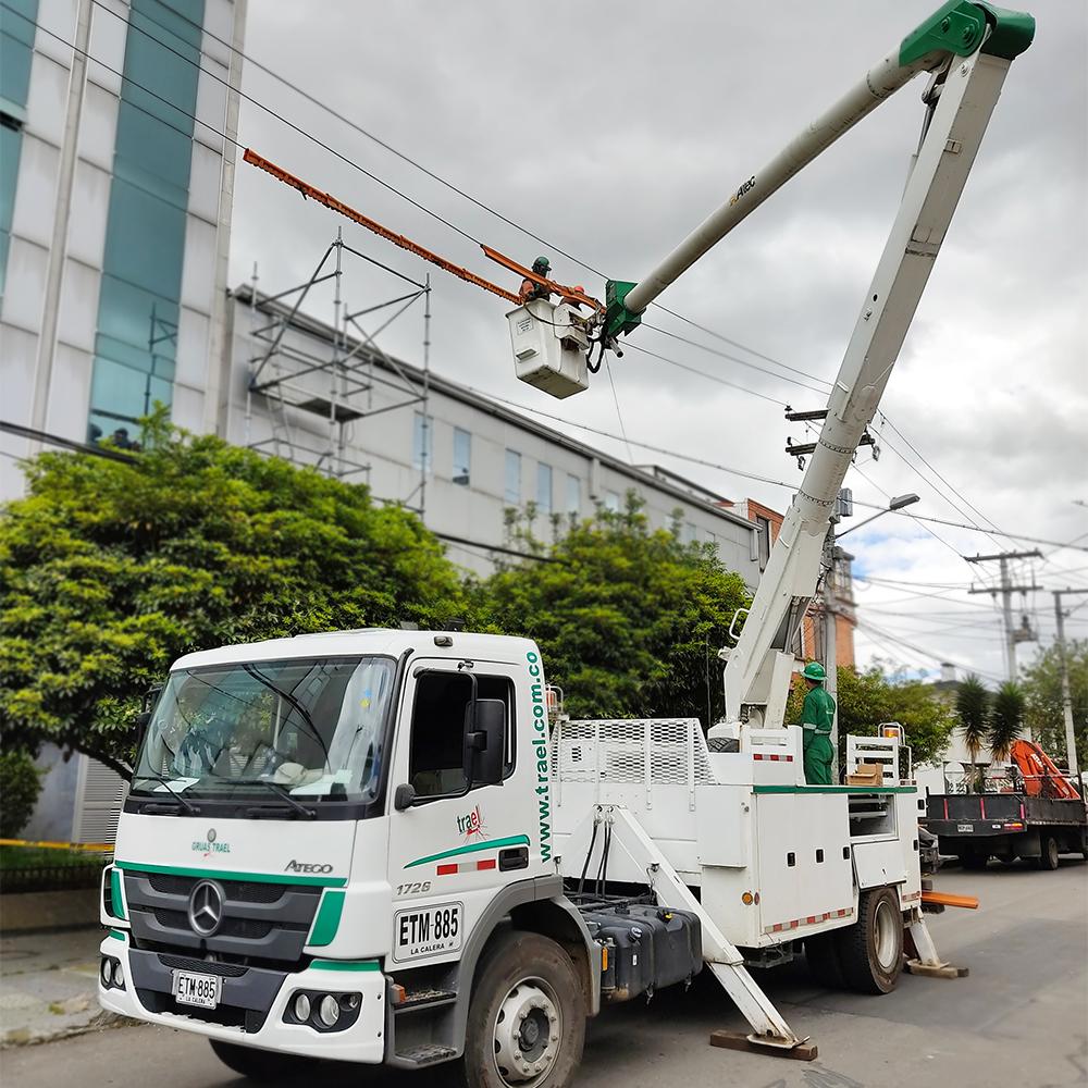 Aislamiento Eléctrico 11000 voltios, Clínica fundadores Bogotá